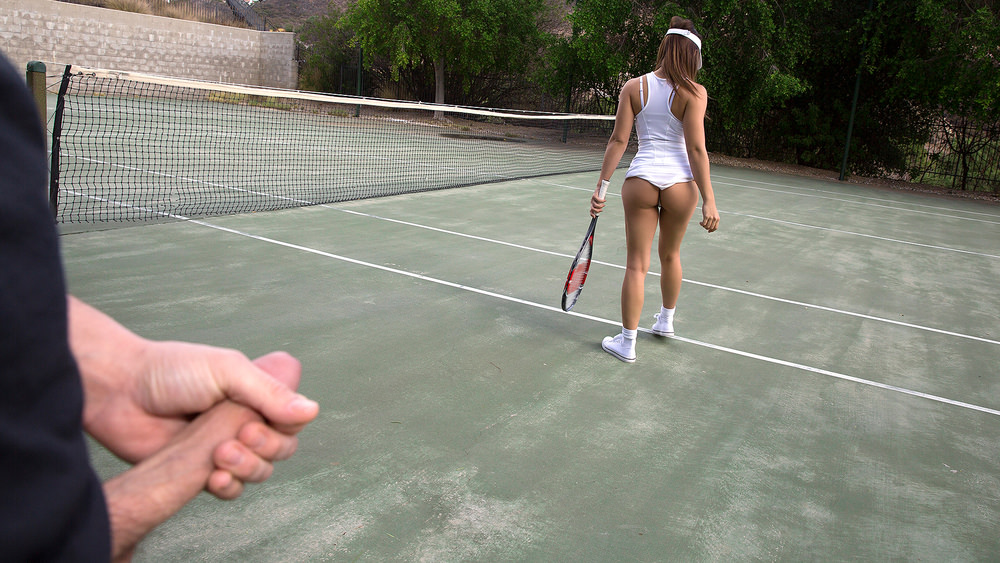 Latina's Tennis Lesson Gets Naughty